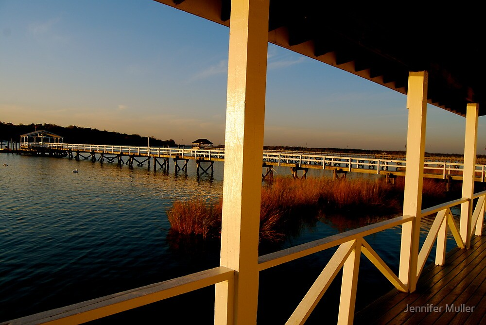autumn dock by Jennifer Muller