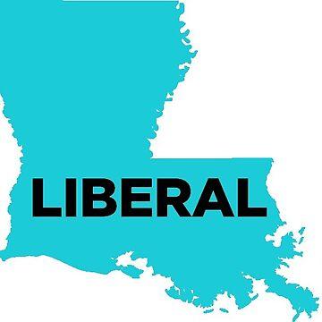 Liberal  Louisiana - blue by wokesouth