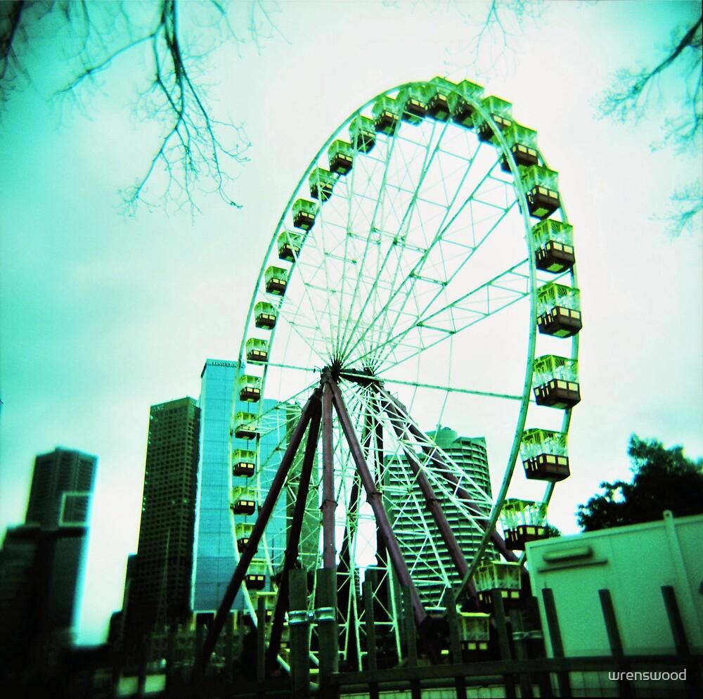 Ferris Wheel Melbourne by wrenswood