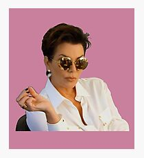 Kris Jenner Photographic Print