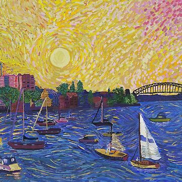 Point Piper by tobycentreart