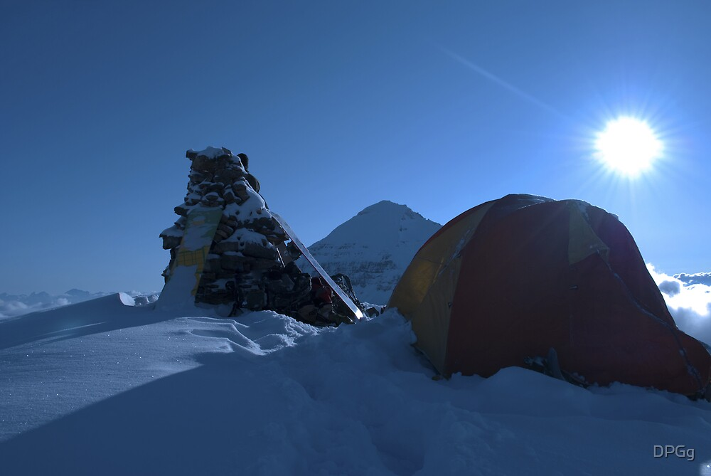 Cool Morning Sun - Back Country, Canadian Rockies by DPGg