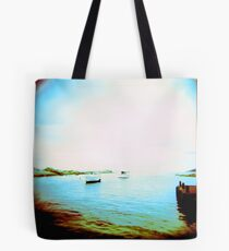 Ghosted Boats Tote Bag