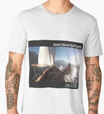 Goat Island Skiff Calendar 2018 Men's Premium T-Shirt
