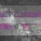 Demigirl Galaxy Flagge von Ash Tomb