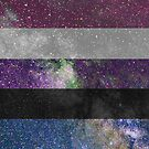 Genderfluid Galaxy Flag von Ash Tomb