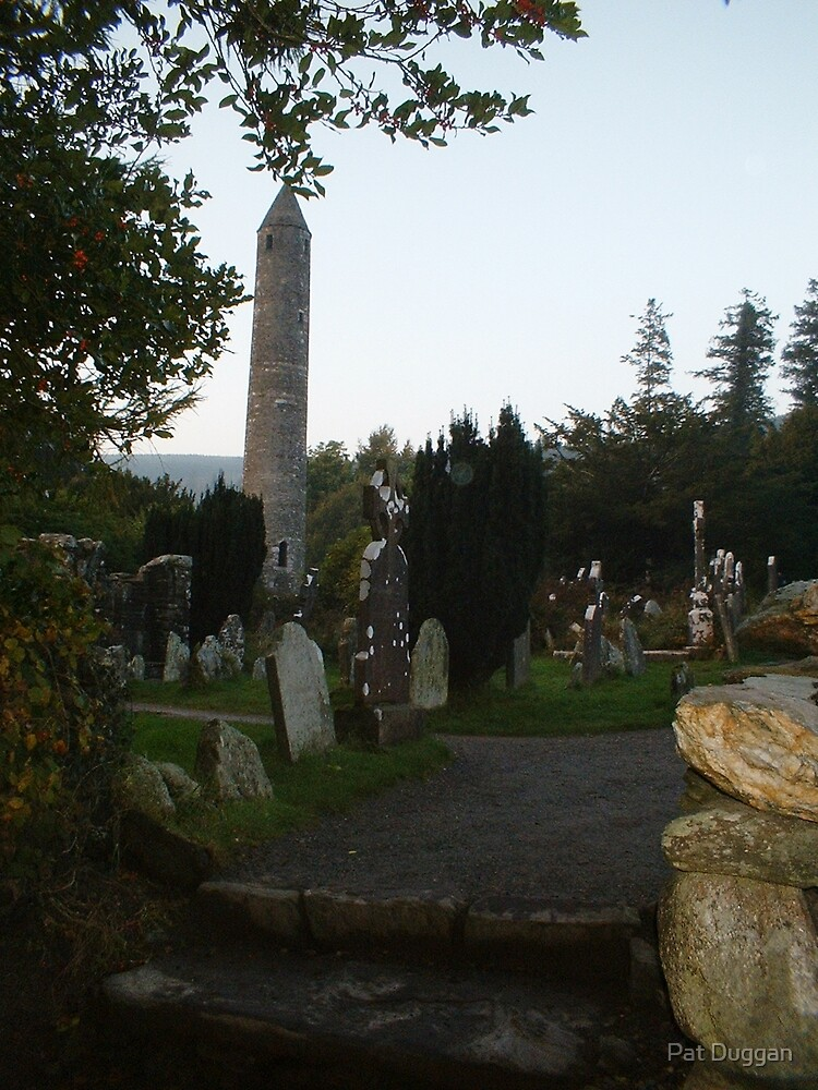 Glendalough Round Tower[Please View Larger]No 4 by Pat Duggan