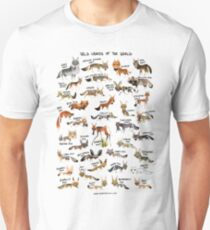 Wild Canids of the World Unisex T-Shirt