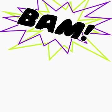 BAM! by Hunniebee
