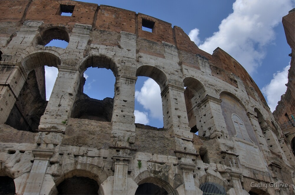 Colosseum, Rome, Italy by Cathy Grieve