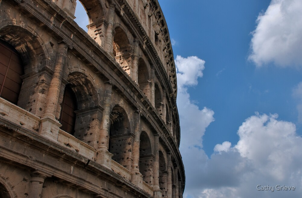 Colosseum, Rome by Cathy Grieve