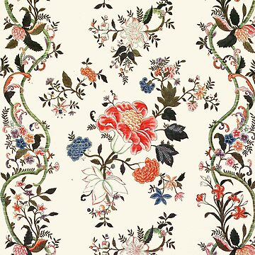 18th Century Chinese Silk Design by Greenbaby