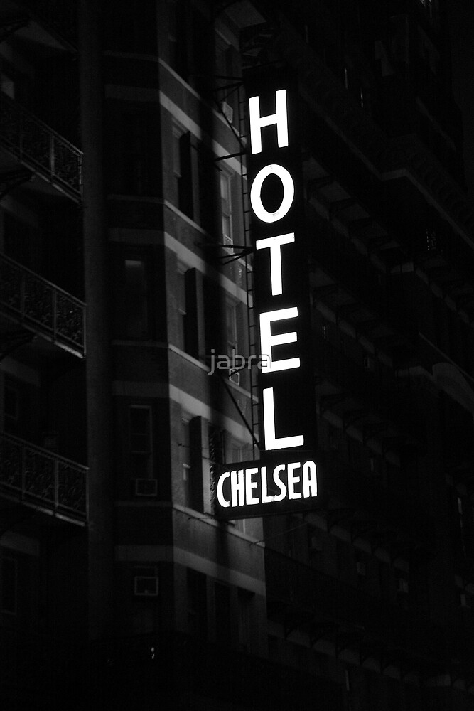 Hotel Chelsea, New York City by jabra