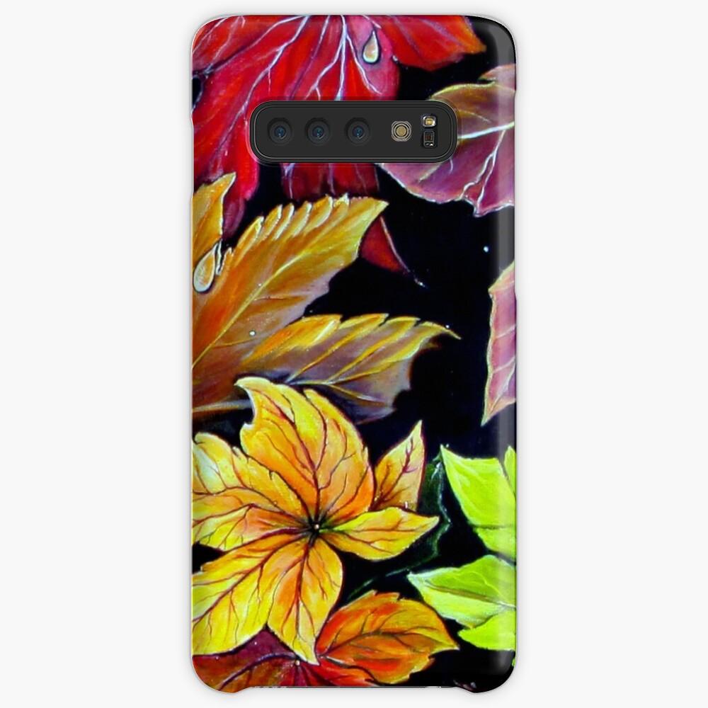 Farben des Herbstes Hülle & Klebefolie für Samsung Galaxy