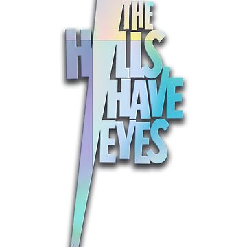 The Hills Have Eyes - 1977 Horror Movie - 3D Logo by tomastich85