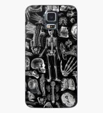 Funda/vinilo para Samsung Galaxy Anatomía Humana Black Print