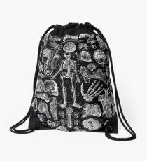 Mochila saco Anatomía Humana Black Print