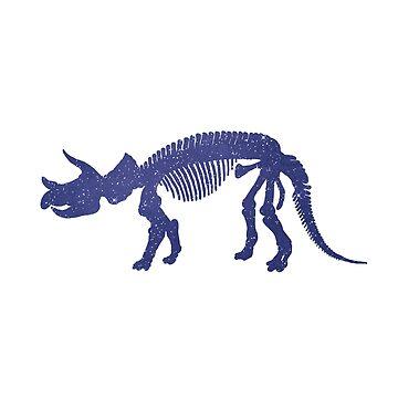 Dinosaur - Triceratops - Skeleton by GwendolynFrost
