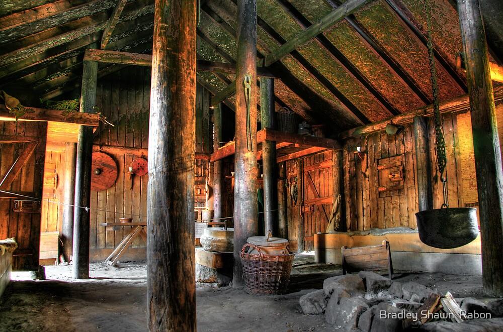 """Viking Village Hall"" by Bradley Shawn  Rabon"