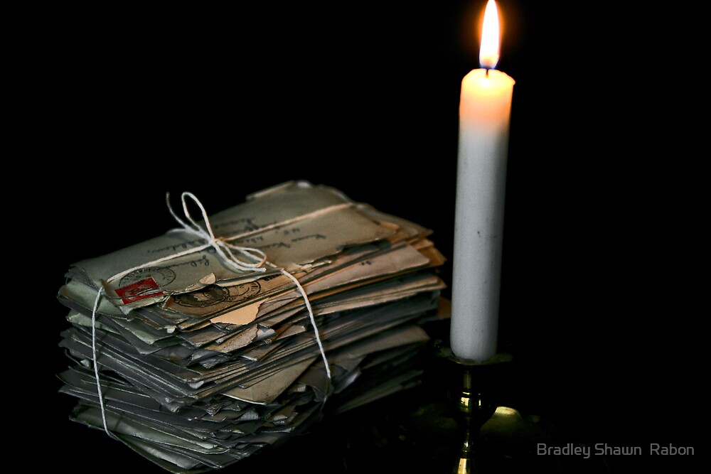 """""""Loving Thoughts by Candlelight"""" by Bradley Shawn  Rabon"""