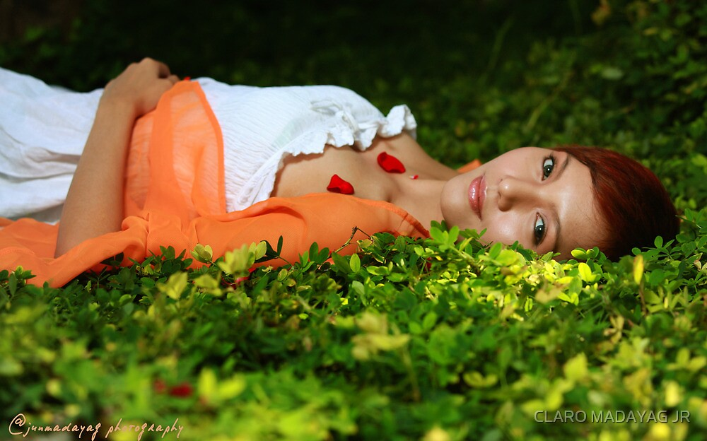 Bed of Green by CLARO MADAYAG JR