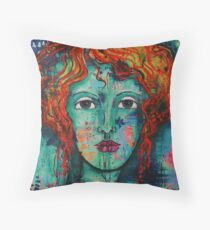 RedHeads Rock Throw Pillow