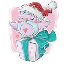 Christmas Owl by Daisyart-lab