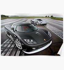 Koenigsegg CCX and CCXR Poster