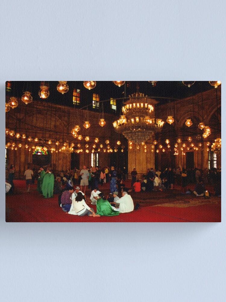 Alternate view of Mosque of Muhammad Ali (Interior) Canvas Print