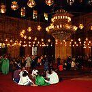 Mosque of Muhammad Ali (Interior) by Wayne Gerard Trotman