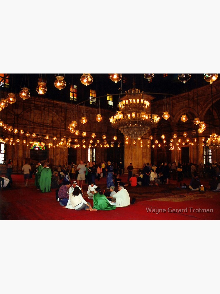 Mosque of Muhammad Ali (Interior) by redmoondragon
