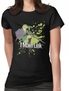 I Main Link - Super Smash Bros. Womens Fitted T-Shirt