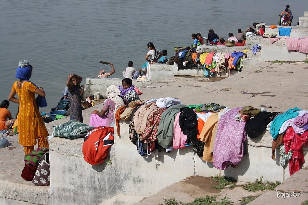 The Laundry, Balasinor, Gujurat, India by kojak67