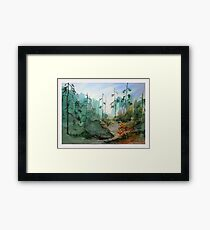 Path of Light Framed Print