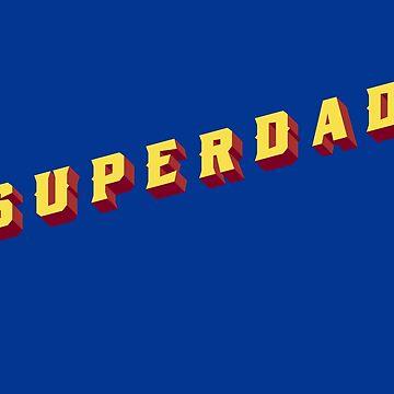 Superdad superhero comic by helgema