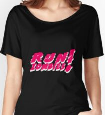 Run! Zombies! Women's Relaxed Fit T-Shirt