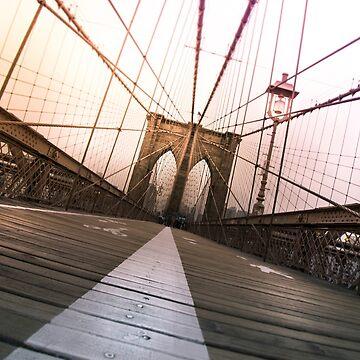 Brooklyn Bridge, New York City by Nicklas81