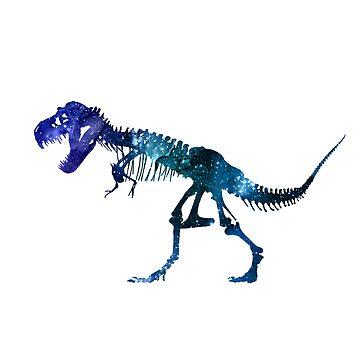 Tyrannosaurus Skeleton by GwendolynFrost