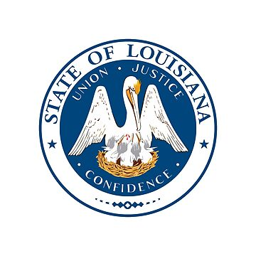 Great Seal of the State of Louisiana by fourretout