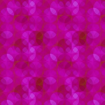 A Purple Rings Pattern by ZipaC