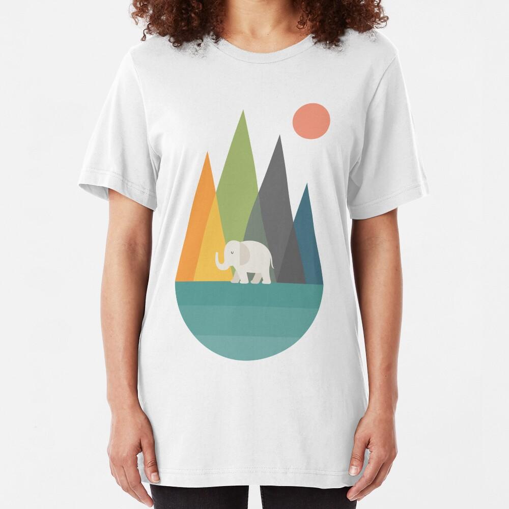 Walk In Peace Slim Fit T-Shirt