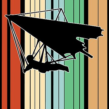 Hang Gliding Funny Design - Id Rather Be  by kudostees