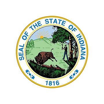 Indiana State Seal by fourretout
