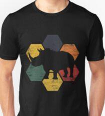 Rhino Endangered species Unisex T-Shirt