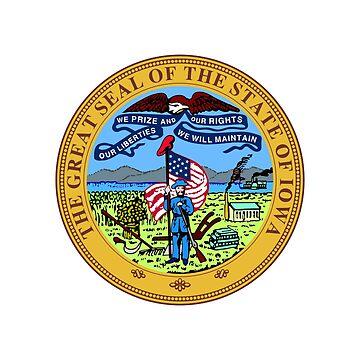 Iowa State Seal by fourretout