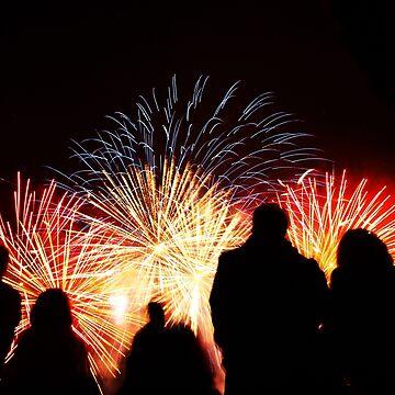 Fireworks in London by zuluspice