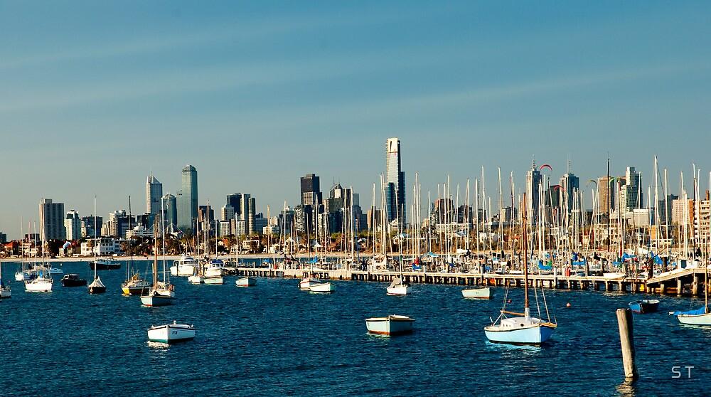 Marvellous Melbourne by S T