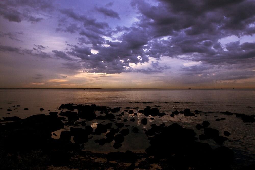 sunrise - williamstown by david de roach