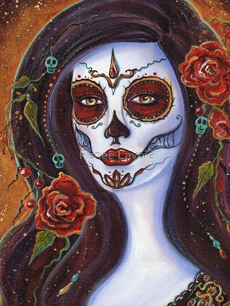 Day of the dead Autumn Rose By Renee Lavoie by fairylover17