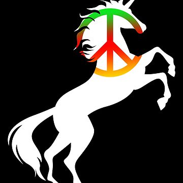 Unicorn Peace Gift by Reutmor